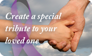 Create a special Tribute for your loved one