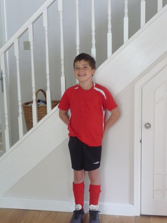 Getting ready for football 2010