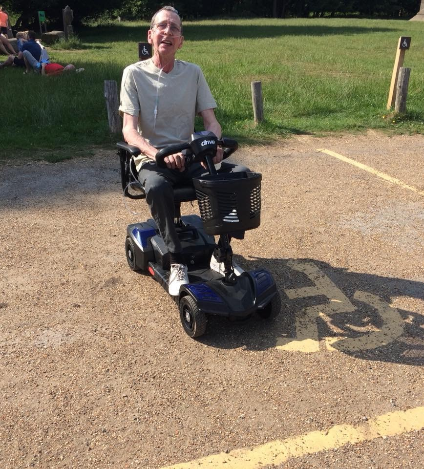 Keith and his new wheels