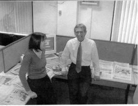 Working together at Xerox on the Capita outplacement project back in 2002.