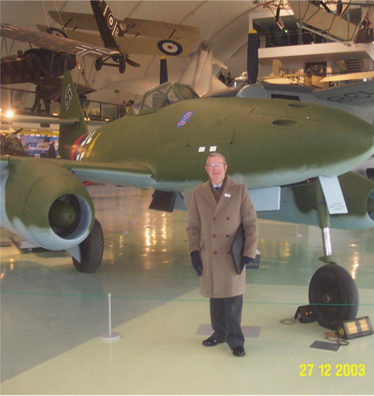 Peter at the Imperial War Museum