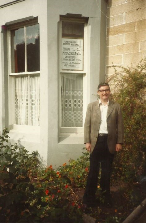 Peter at Westfield Road 1982 to 83