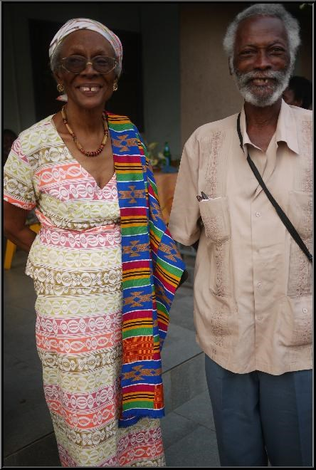Daddy And Ma.  Photo by R. Amissah