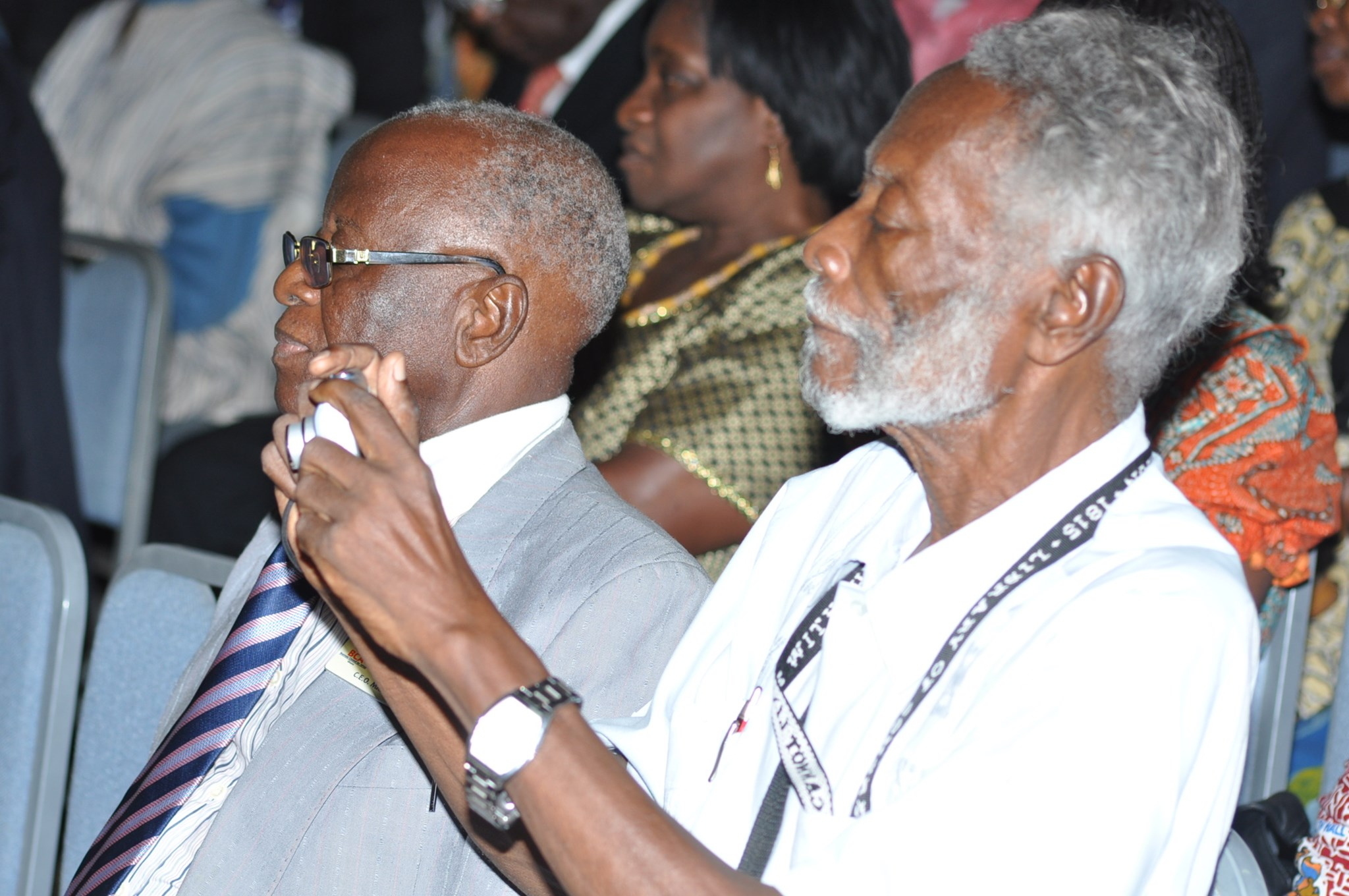 Also at the Aggrey Fraser Guggisberg Memorial Lecture 2012 (Photo Courtesy Stella Amoa)