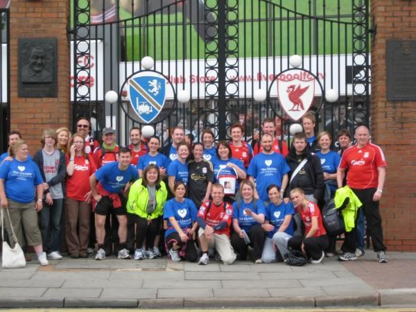 Newton to Anfield Memorial Walk