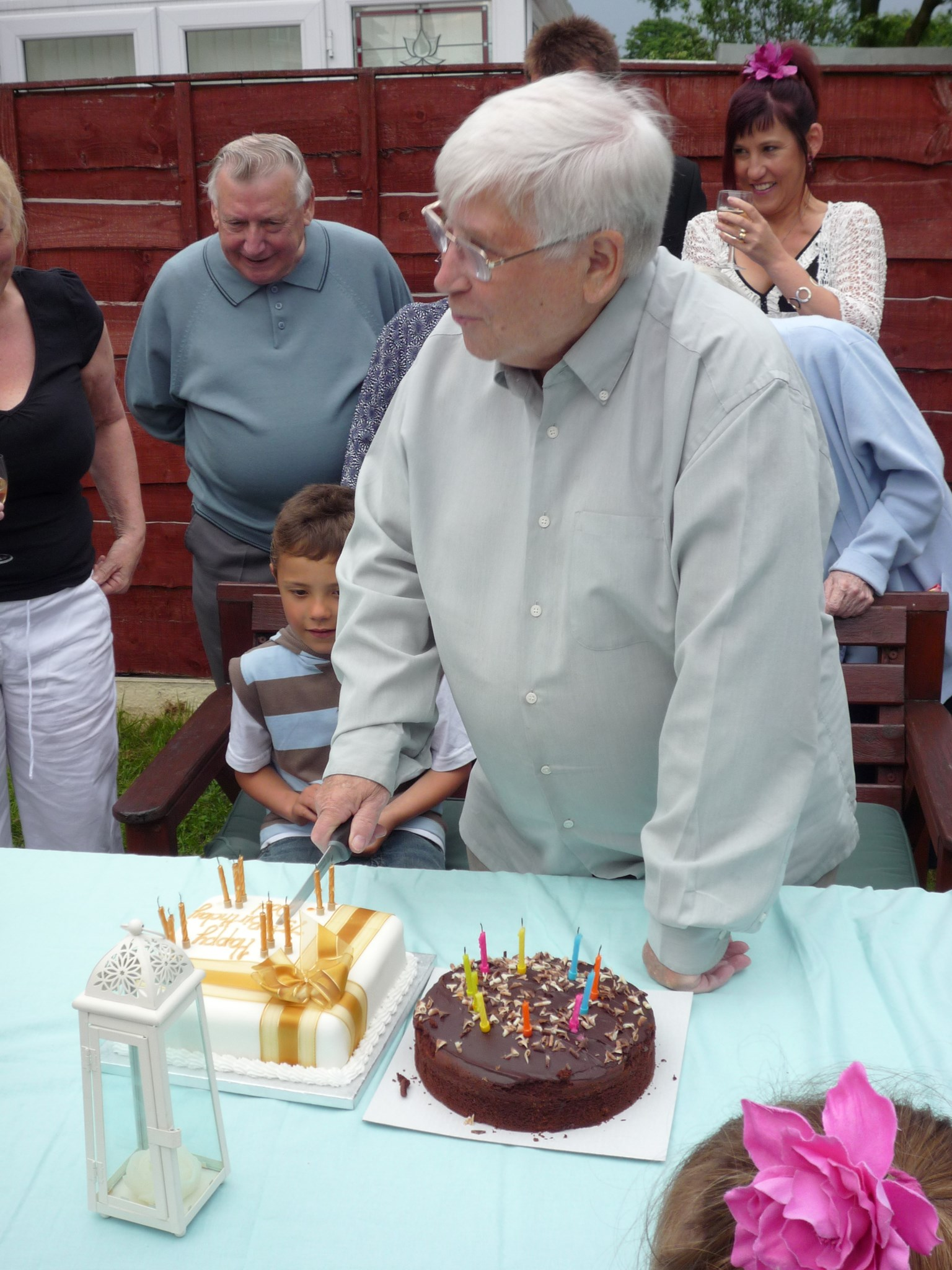 George at his 75th Birthday Party