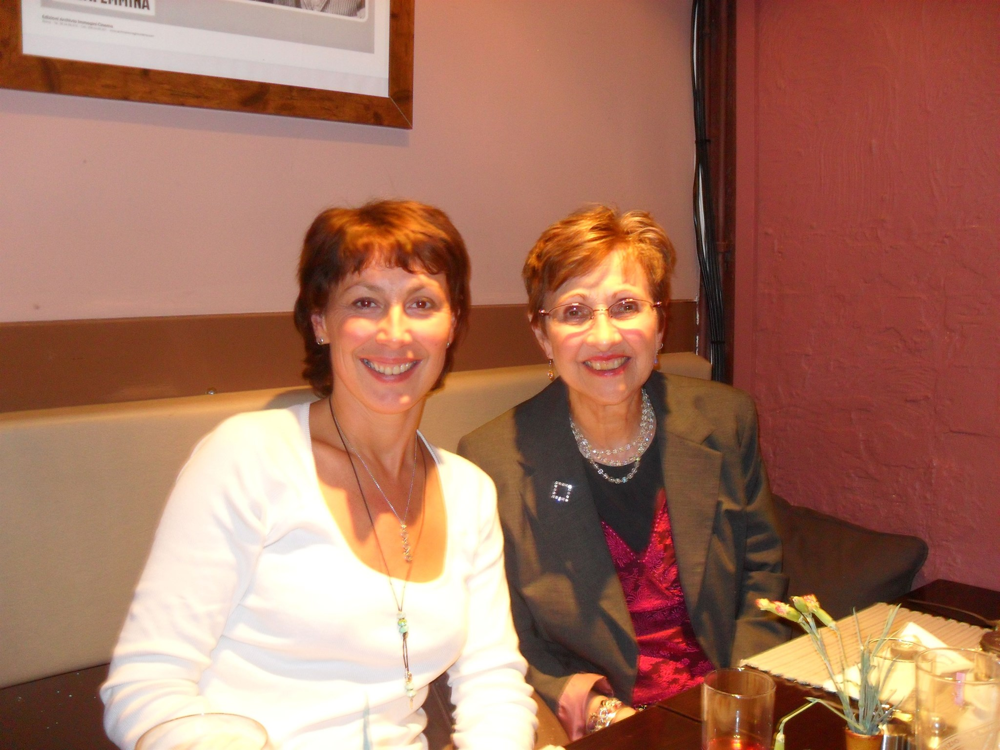2010 Dinner in Worthing with Aunty Christine