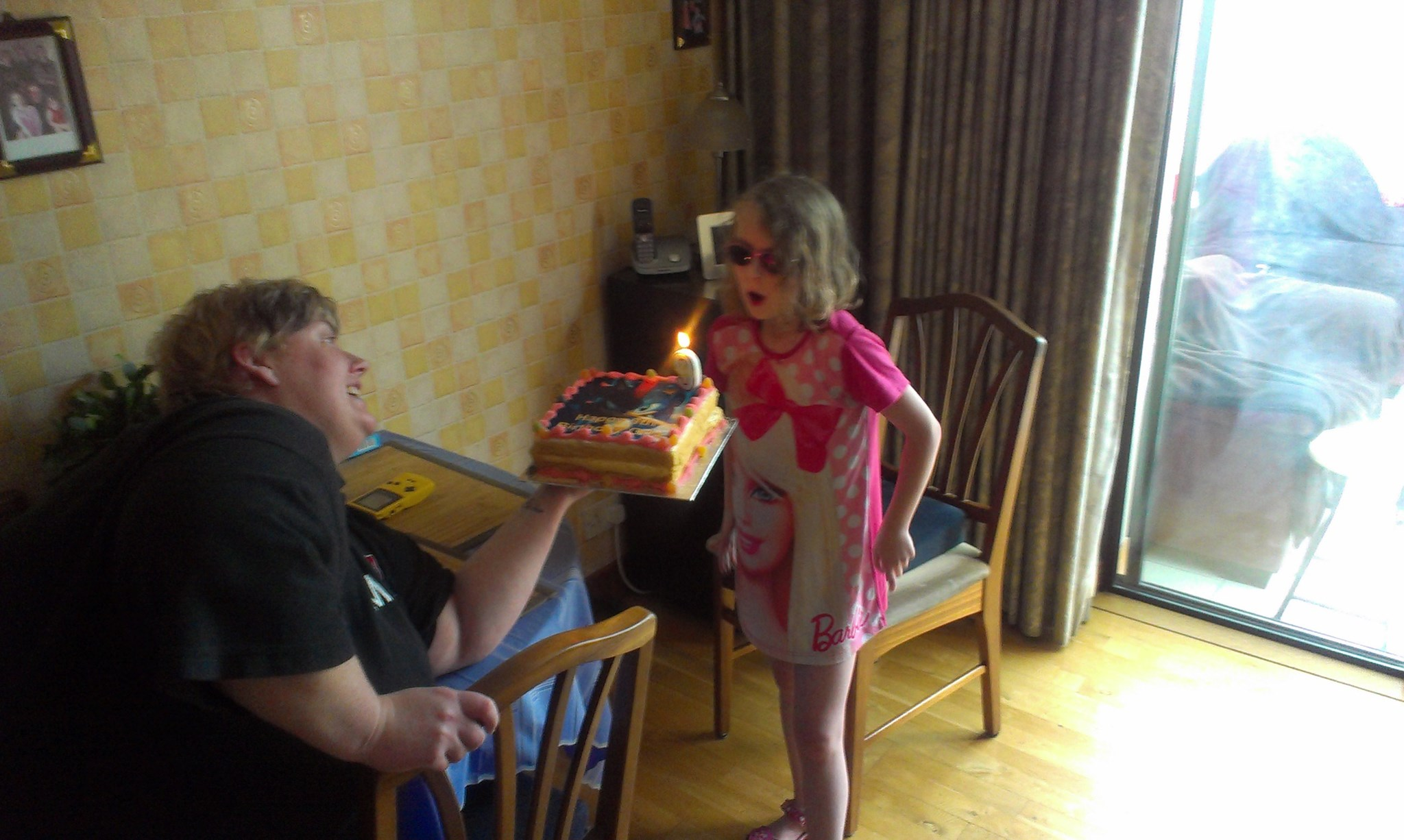 orla's 9th Birthday her last with us