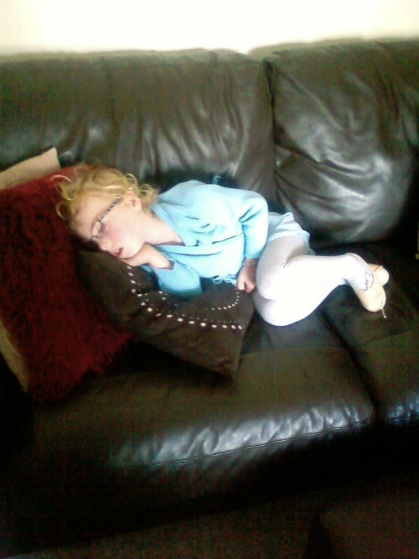 tired after ballet