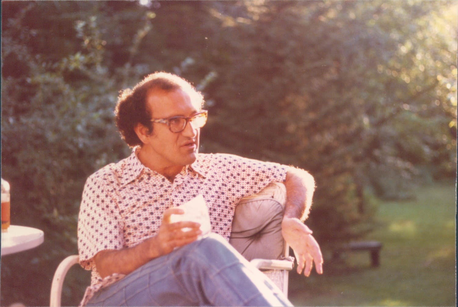 Reza, Weston, Massachusetts, 1973