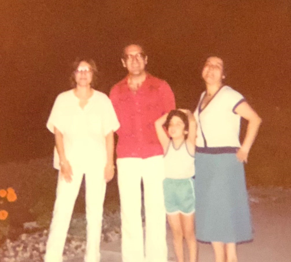 With Eghbal, Nini and Zarzar-Moraga, CA 1980s