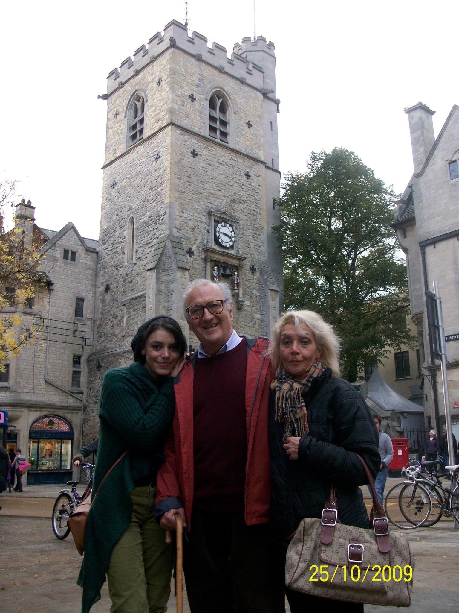 He truly loved Oxford. Carfax, 2009