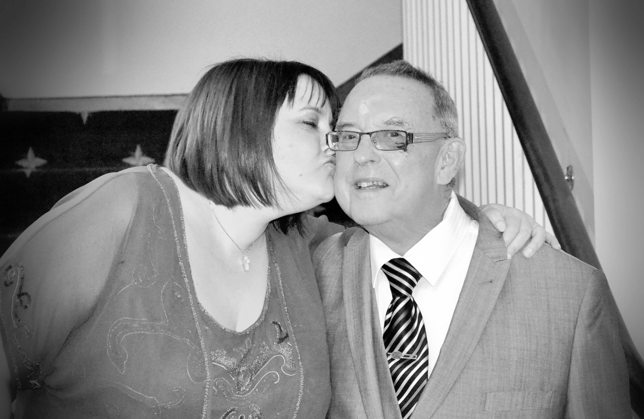 Me and Dad - my wedding 3/1/2015.