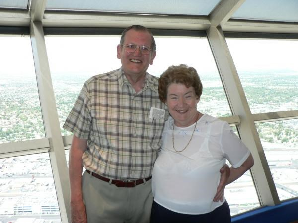 2007 - At top of the Stratosphere Tower, Las Vegas, U.S.A.
