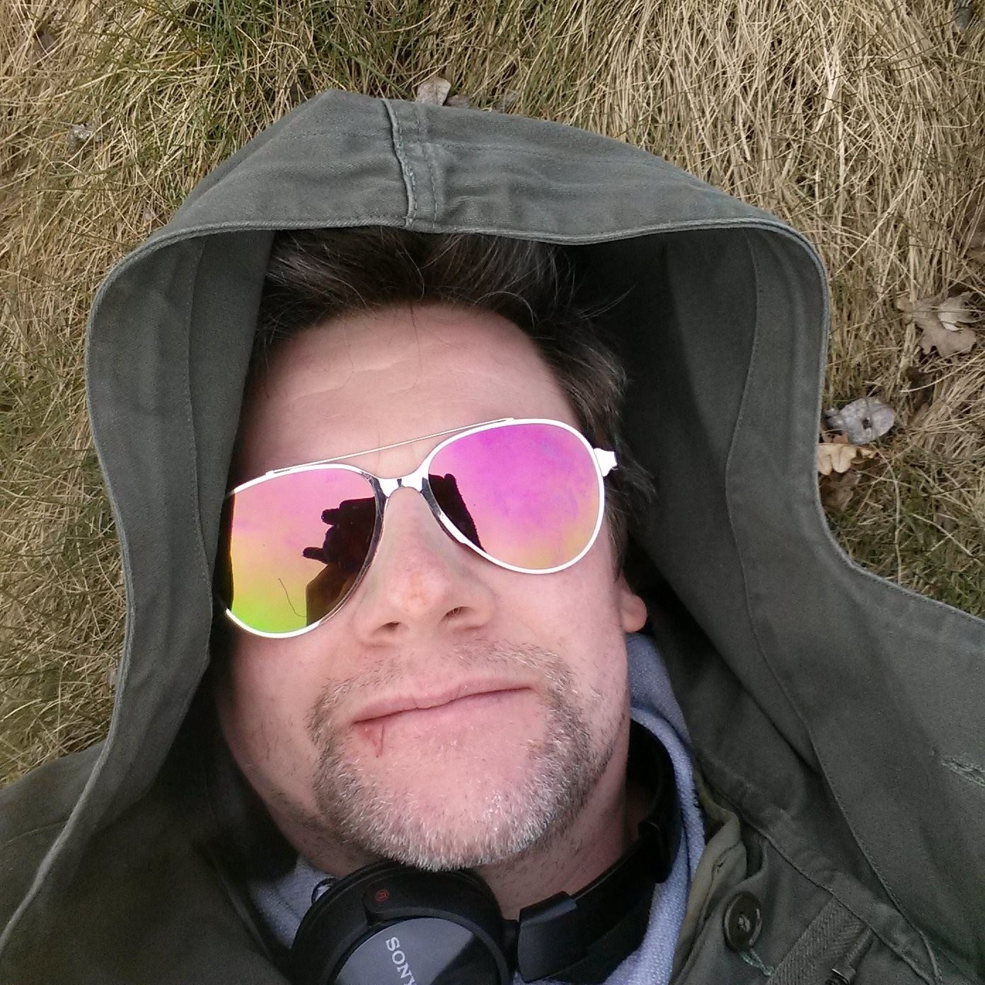 Anth loved to ride out on his bike, find a sunny spot and snooze in the fresh air.