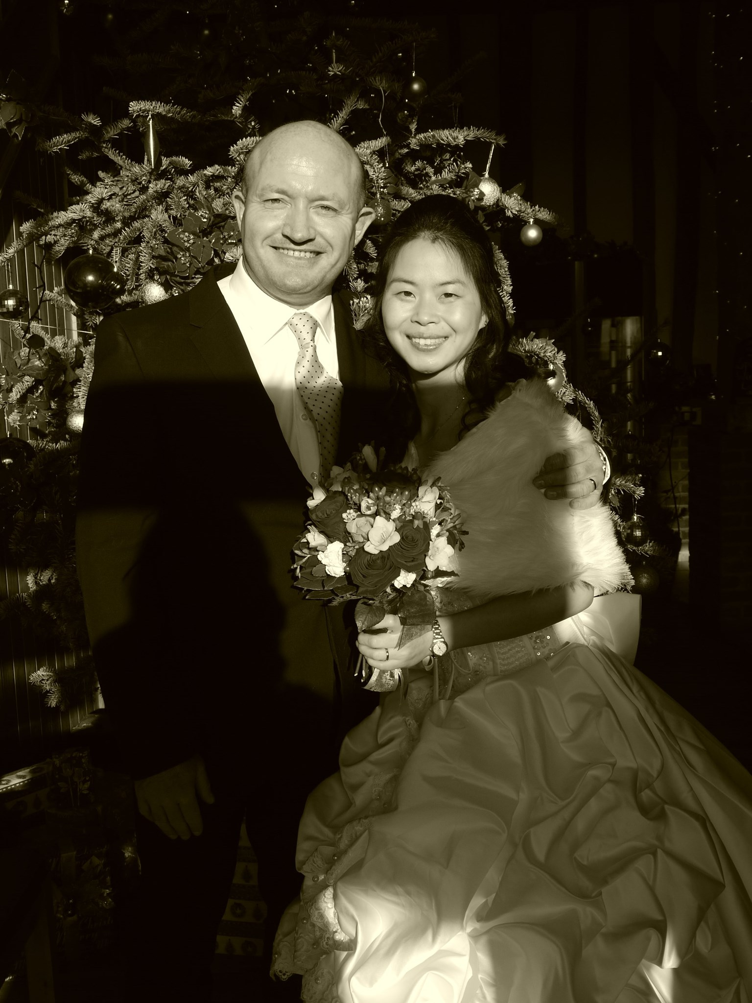 Rob and Yueling's Wedding Day