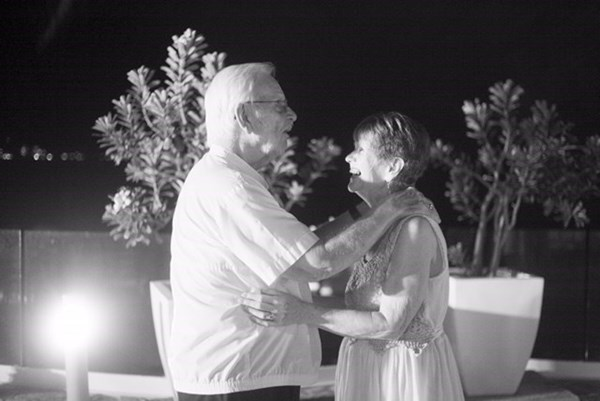 Mom and Dad, dancing under the stars (from Jessie Lazeroff)
