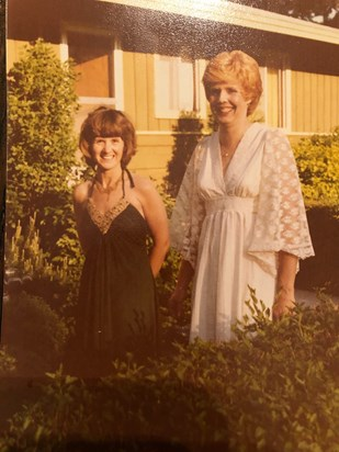 Mom and Penny Lanenberg (we miss you both so much)