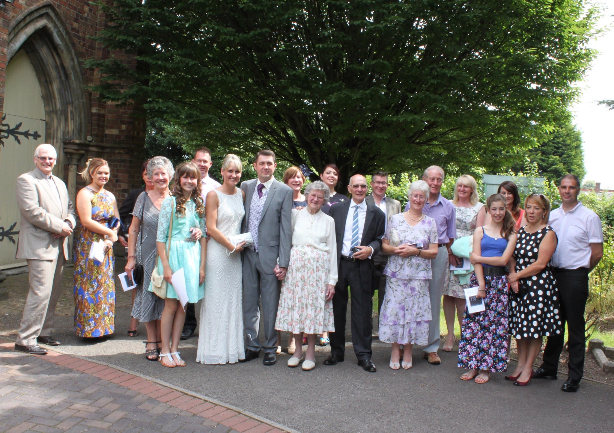 20 Years Renewal of Vows. July 2014. A Great Day