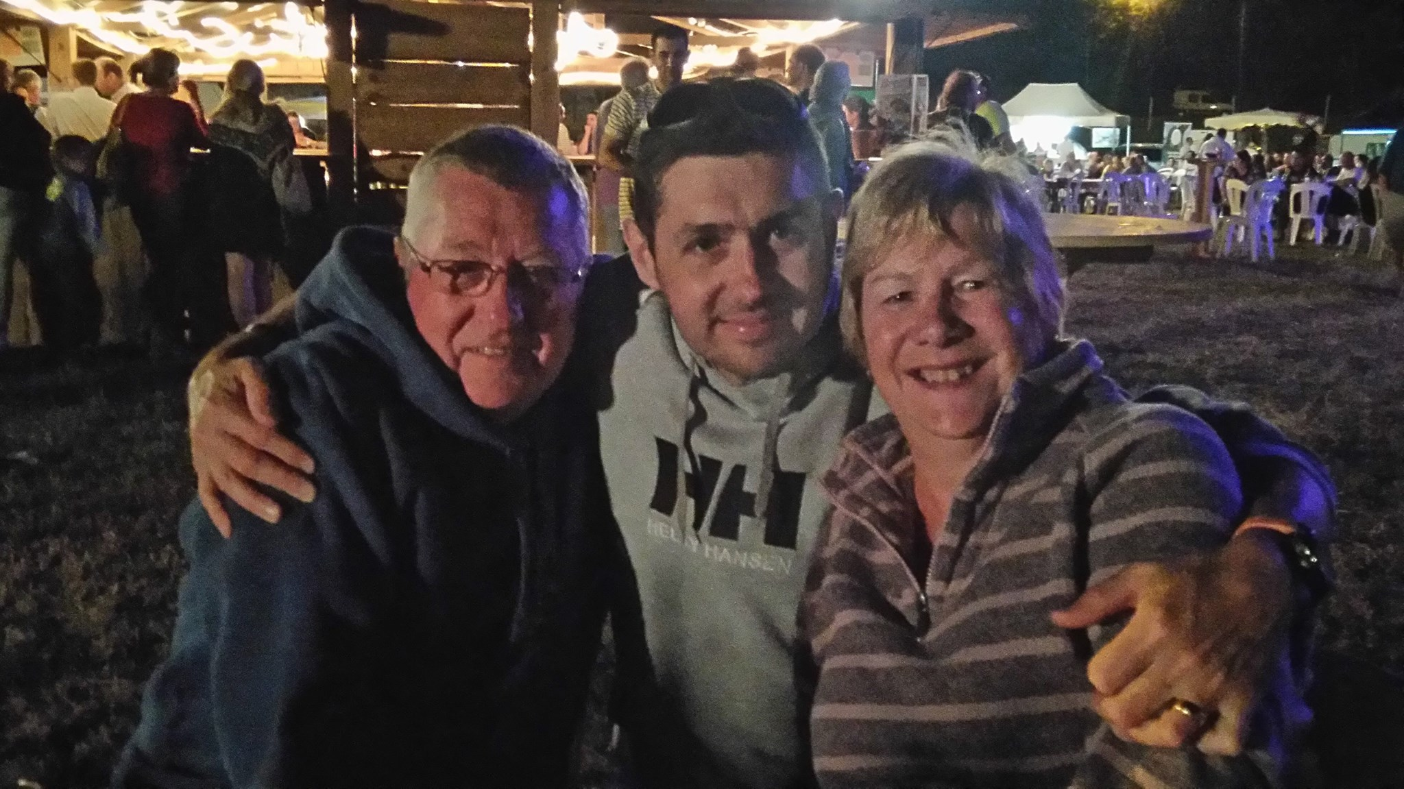 With Mum and Dad 18 months ago