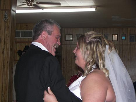 me and dad dancin' again right before he started crying