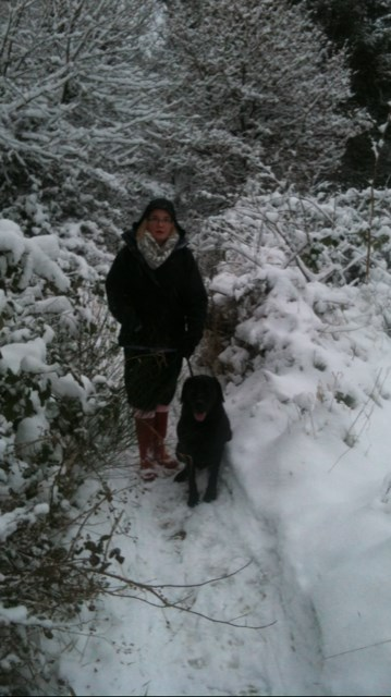 Gaynor & Jet, it does snow down South.