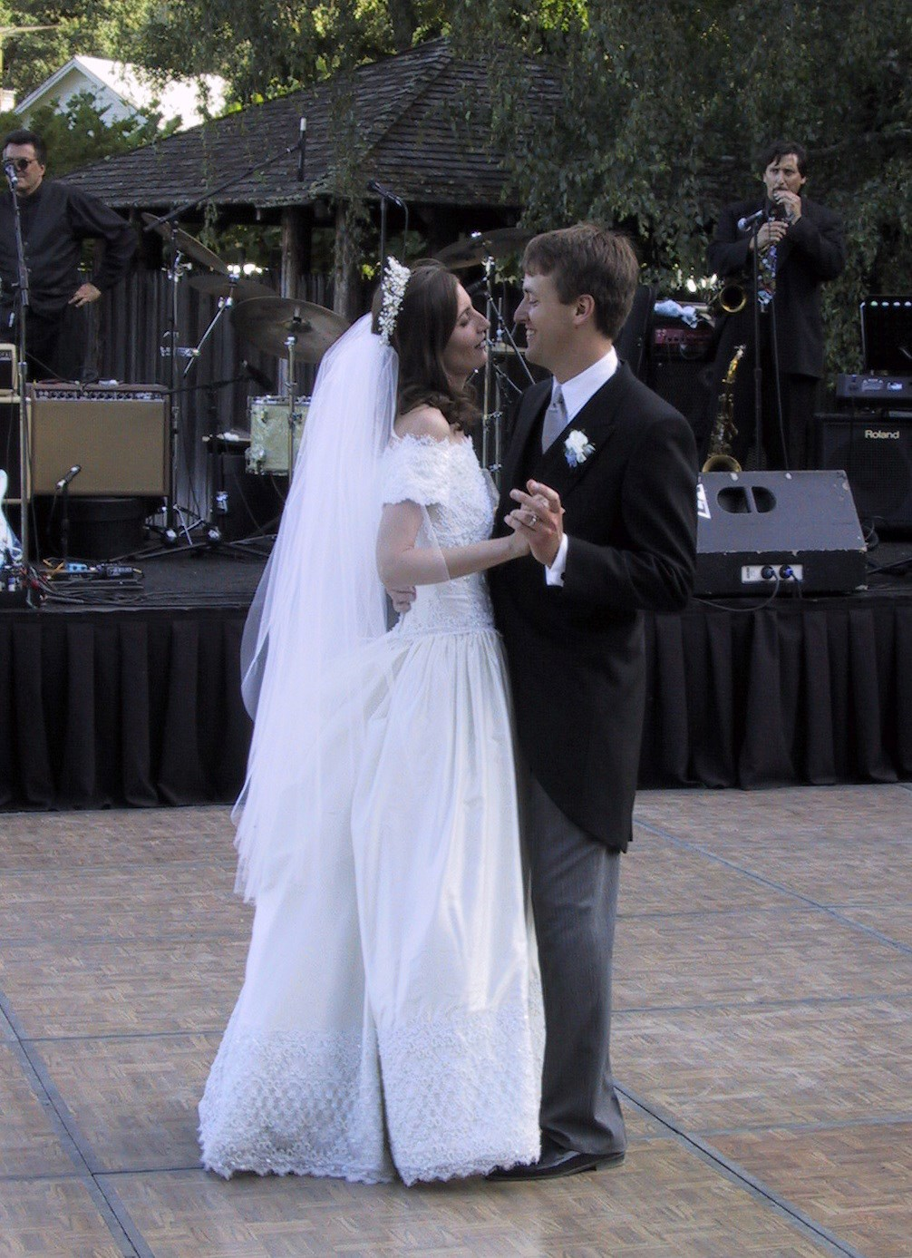 "Dave and Melissa's First Dance [George Strait's ""I just wanna dance with you""]"
