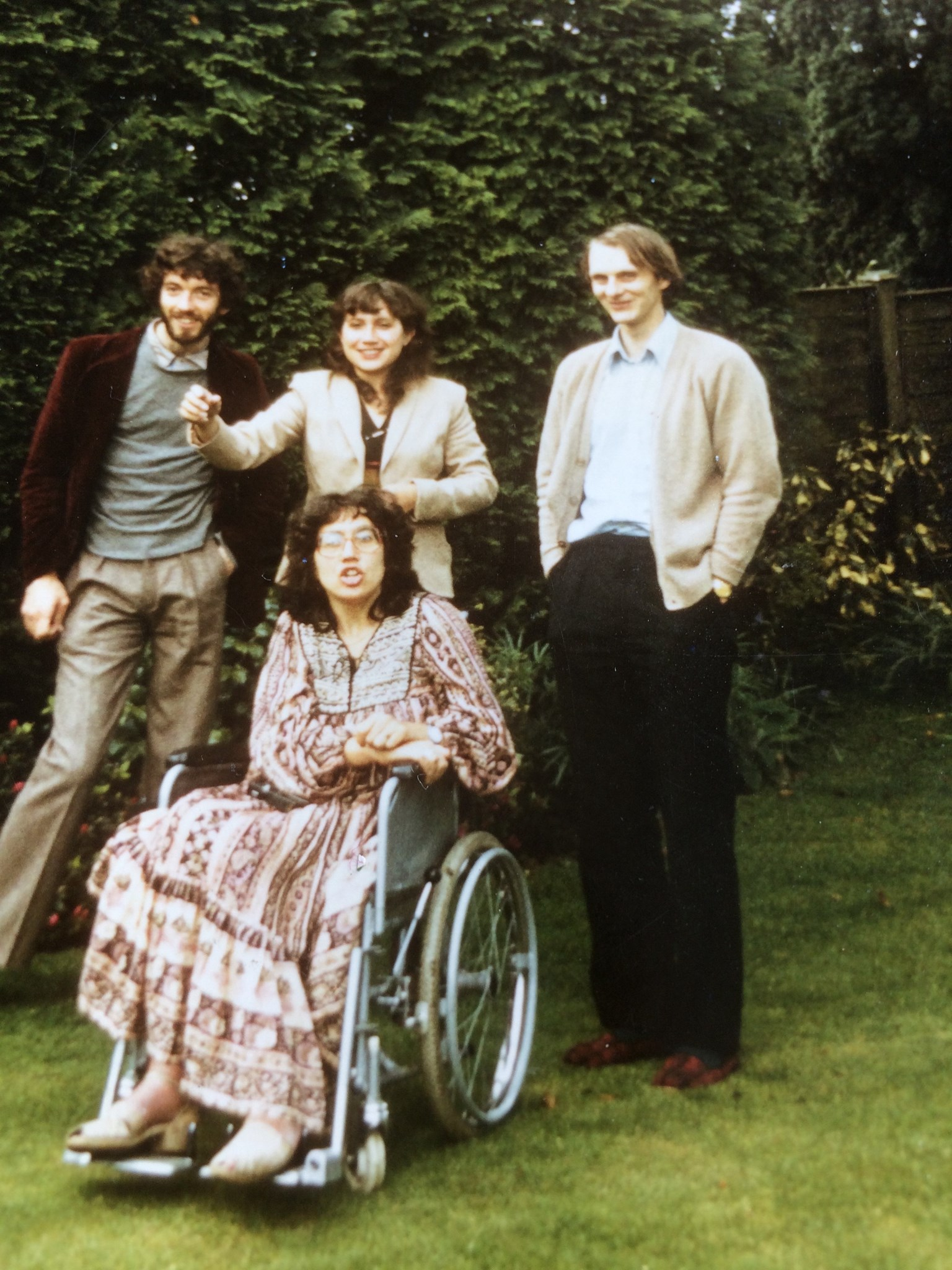 Rick, Claire, Helen and her husband around 1970