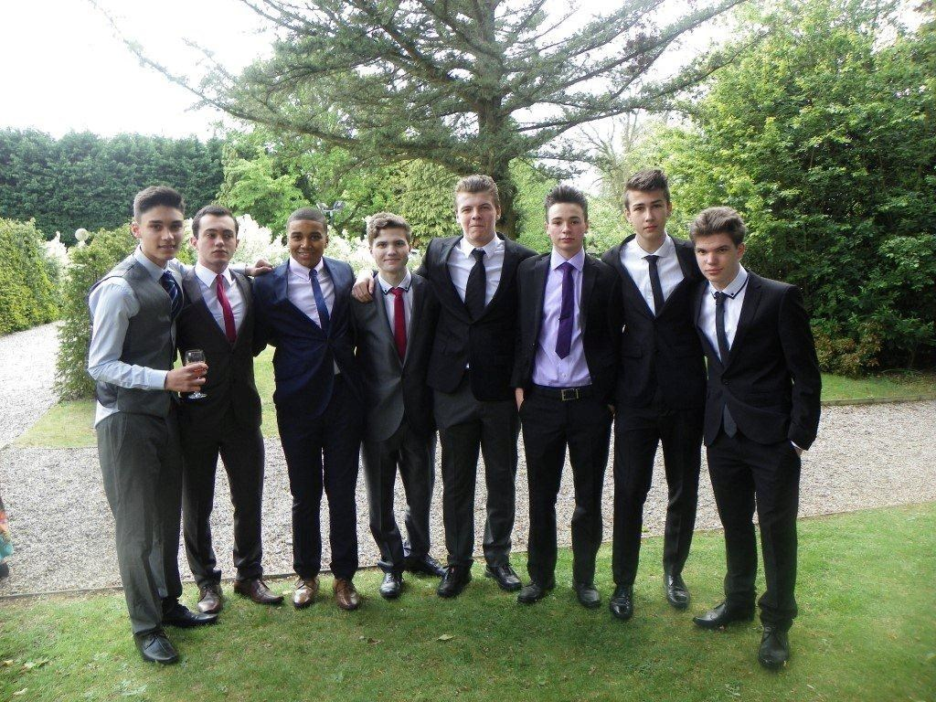 Tom at his Prom