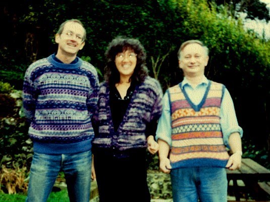 Sweaters 1989 -  with Tom Cronin and Ros Cronin
