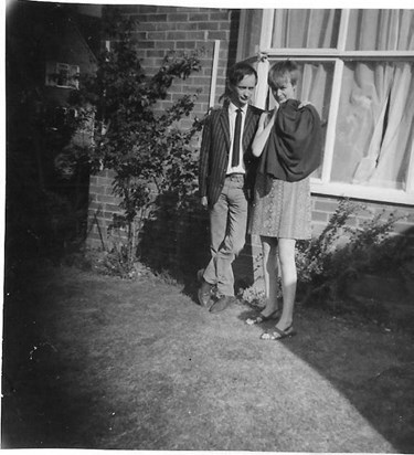 Ju and Mike - Reading 1965