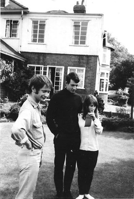 Mike, Ian and Janet 1969