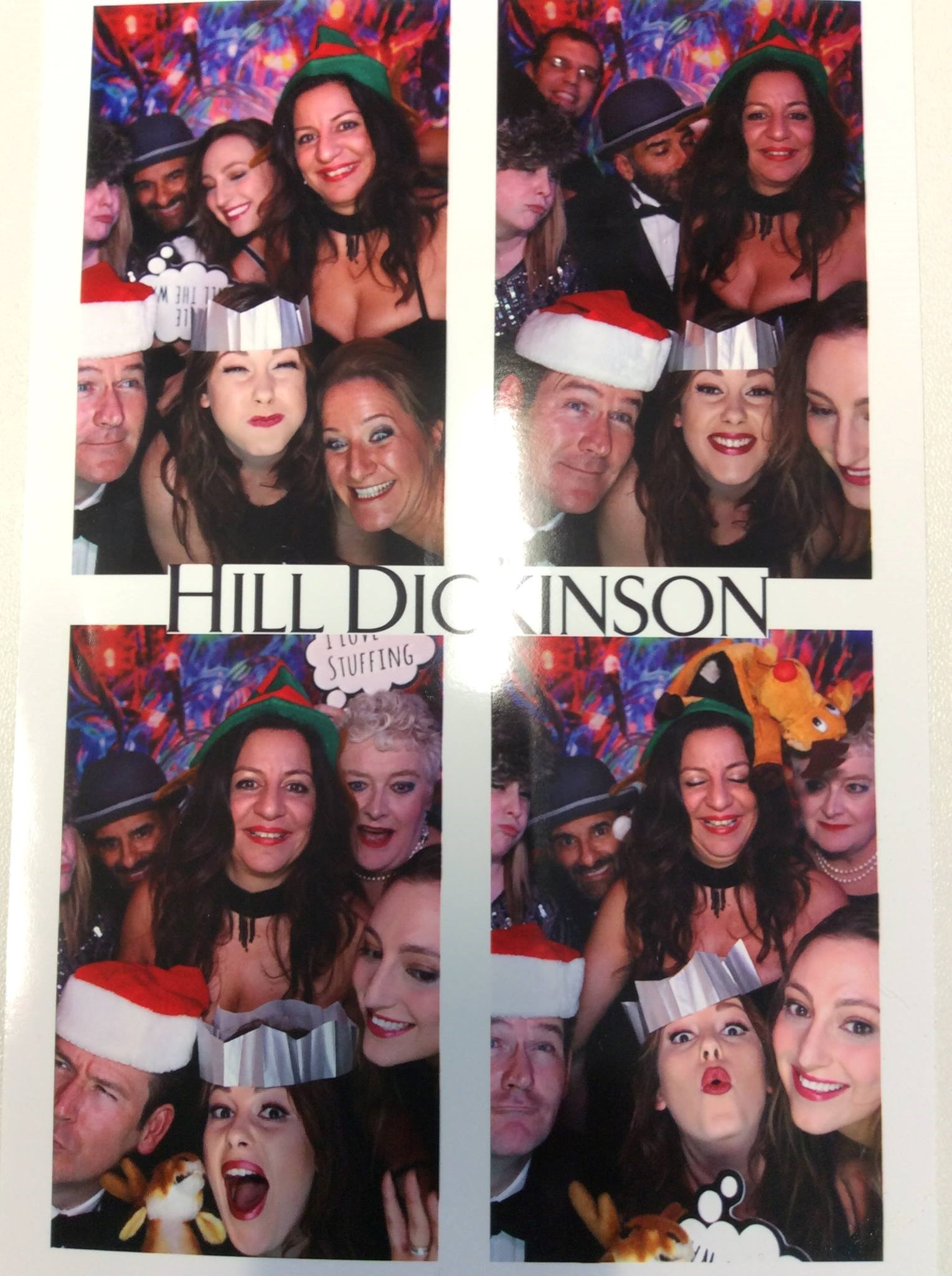 Christmas fun with our beloved Maria at The In and Out Naval and Military Club 2016
