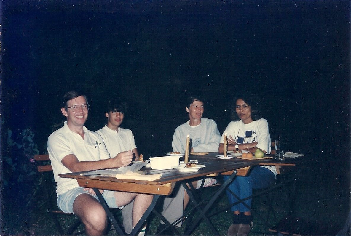 With Croppers at Rolle 1993