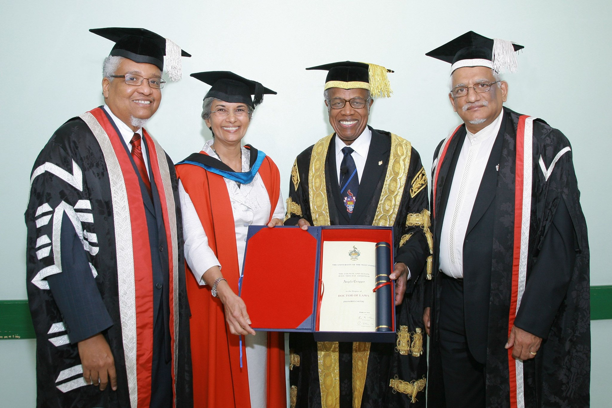 Angela Cropper - UWI Honorary Graduand (2009)