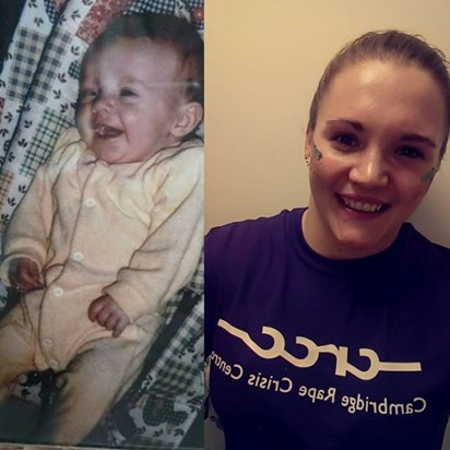 The same smile as a baby - beautiful girl! xxxx