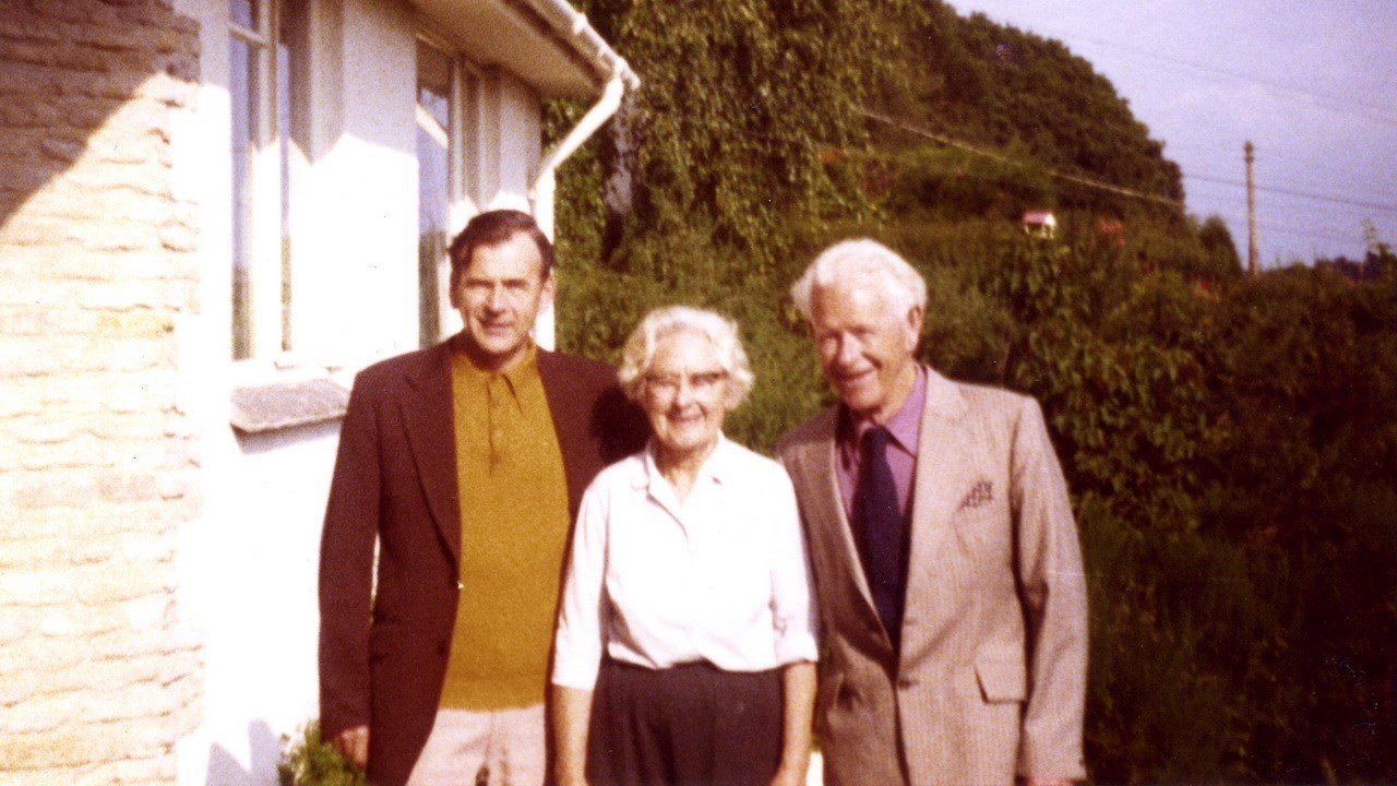 Rod with his father and step mother