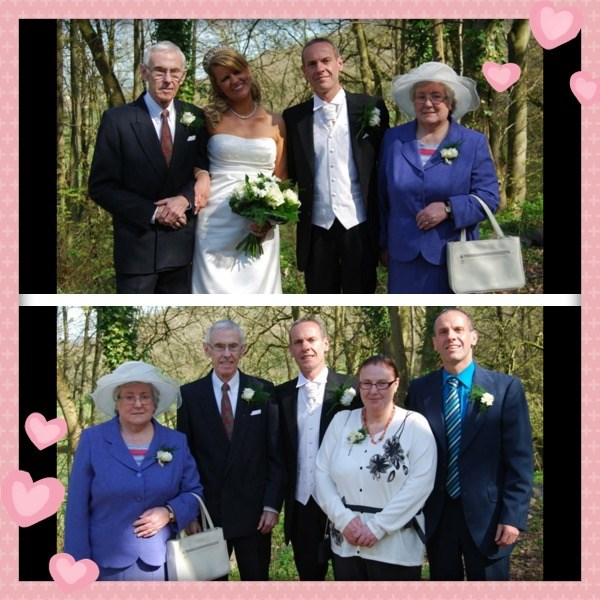 A happy family day ..our wedding 8/4/11 xx