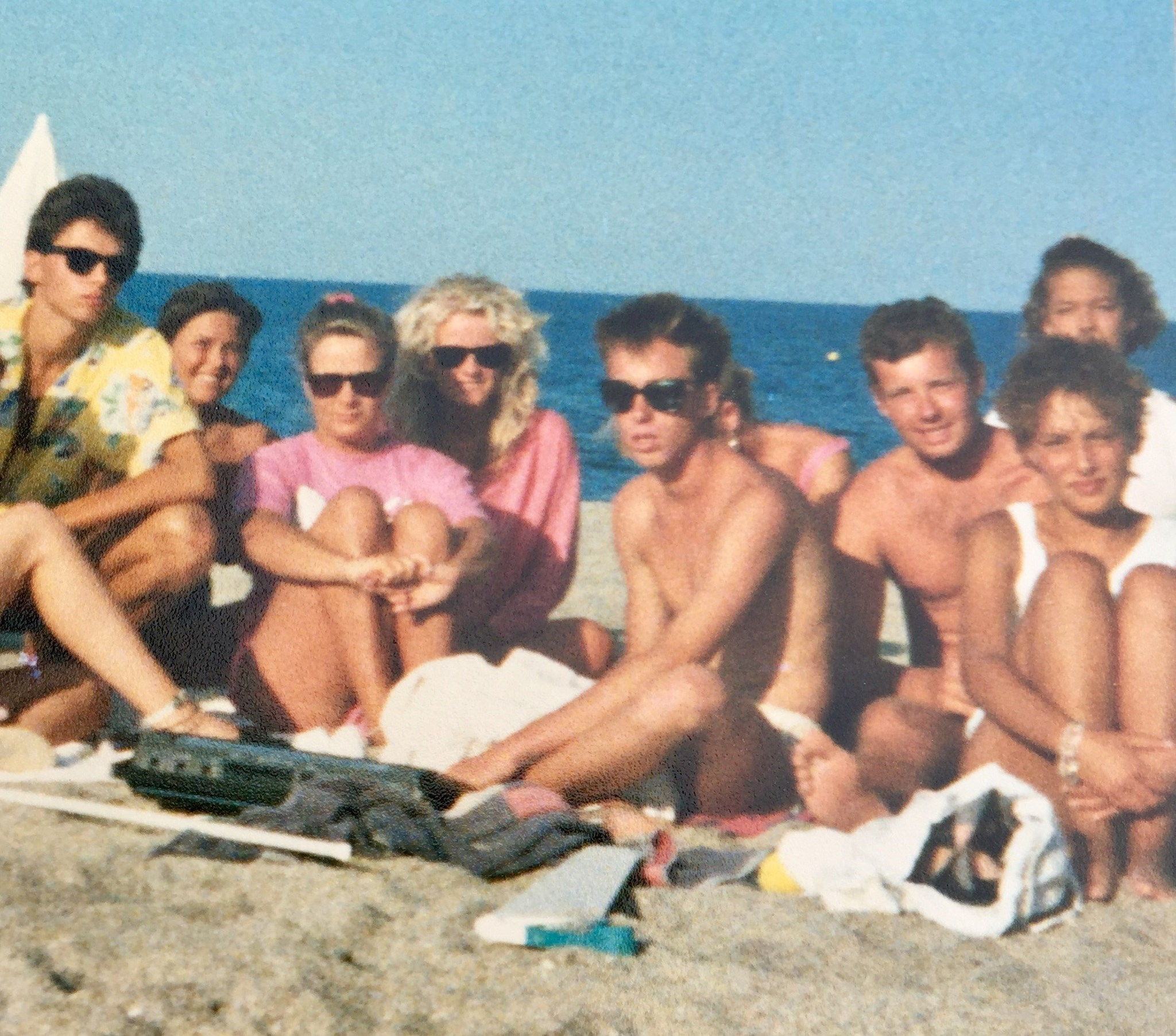 summer in the south of france, 1986.