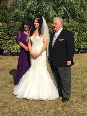 Grandad who proudly gave his grandaughter away at her wedding  xxx