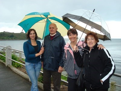 Angela, Lizette and her mum and dad x