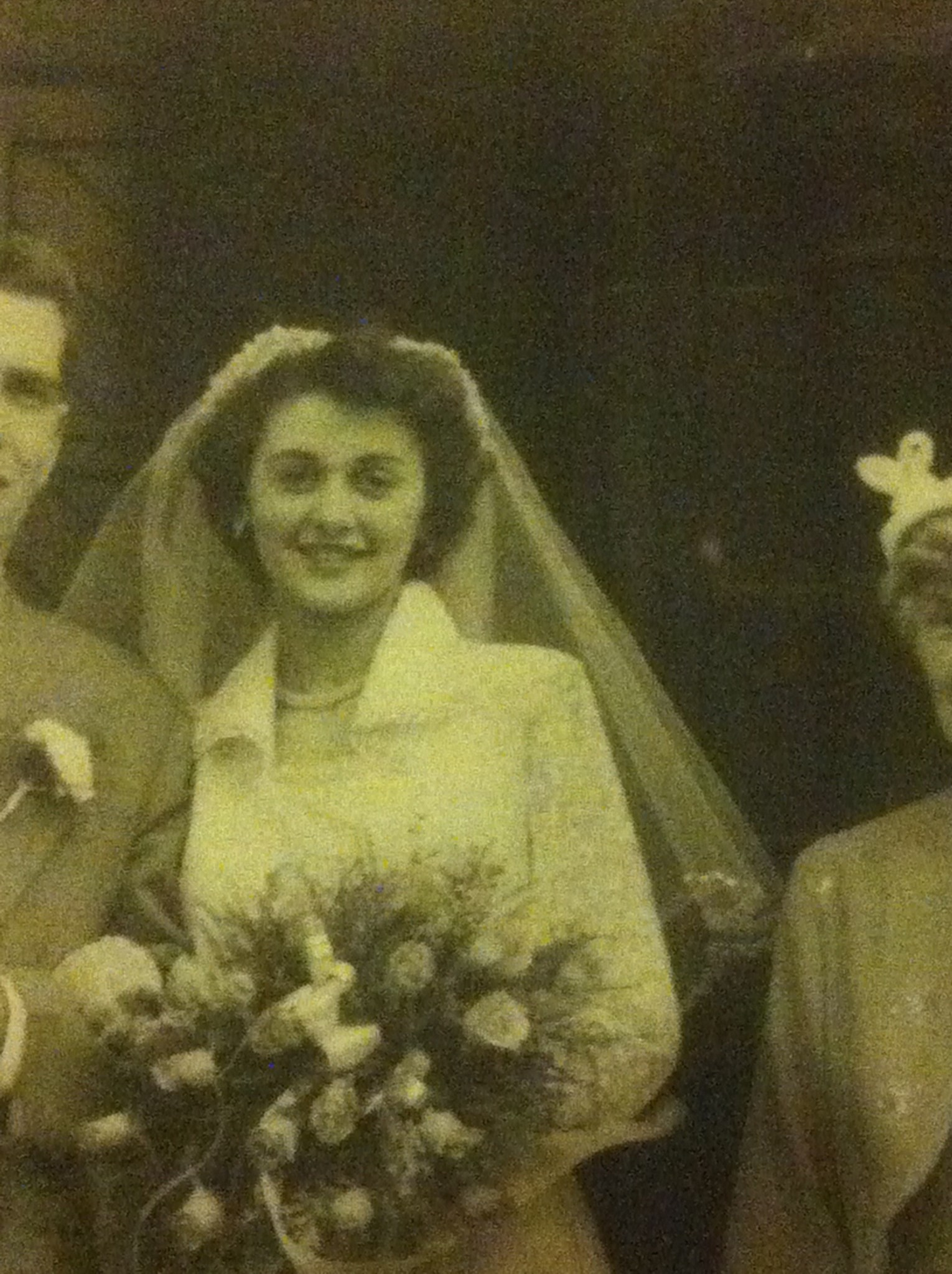 Joyce's wedding day