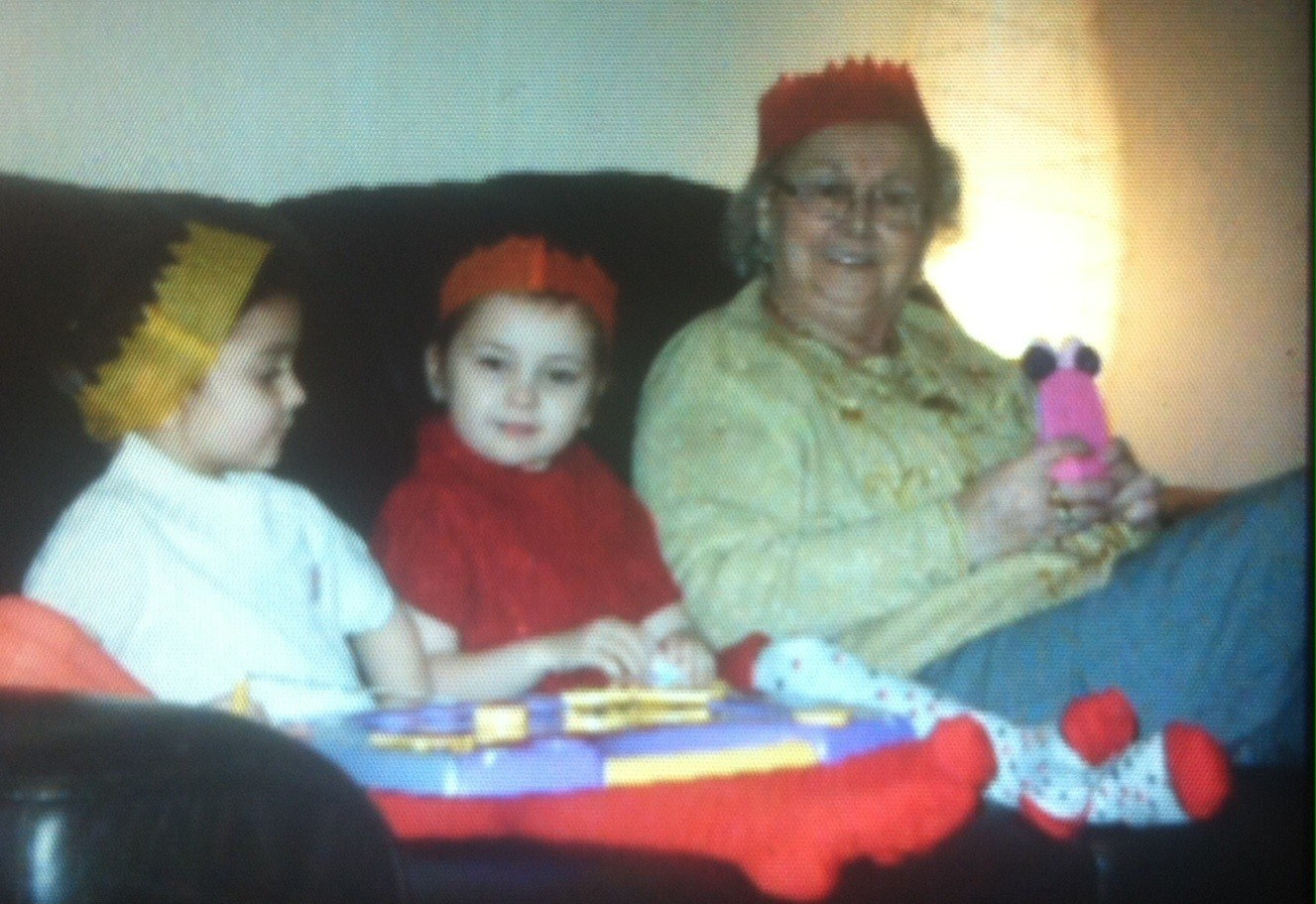 Summer-Joy Shannon and Auntie Joyce Xmas 2011 xx