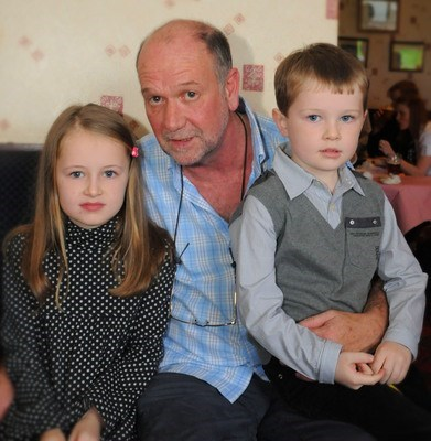 Uncle Neil, Ruby & Max!