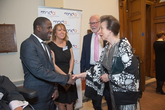 MND Association Research Dinner with HRH The Princess Royal - October 2018