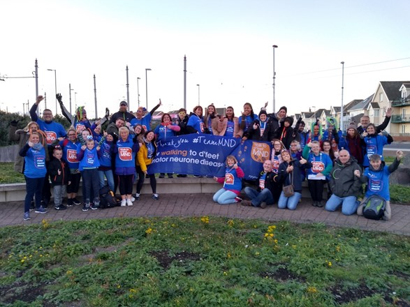 On 6 Oct 2018 Nadine & her colleagues from Bupa organised a 'Walk The Lights' sponsored walk.