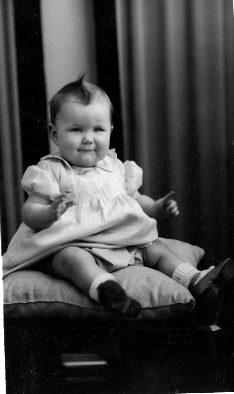 One year old baby Sylvia