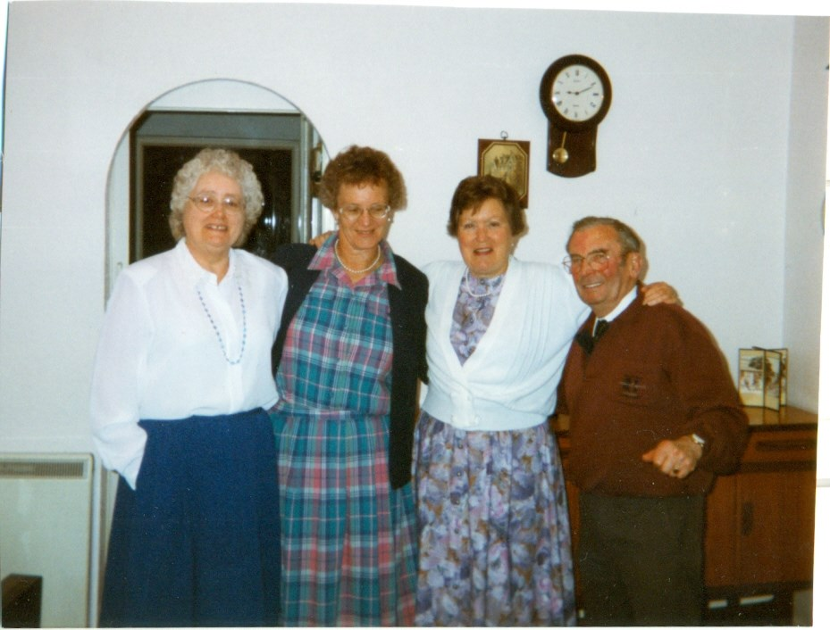 1998 - With Cynthia, Megan and Eric