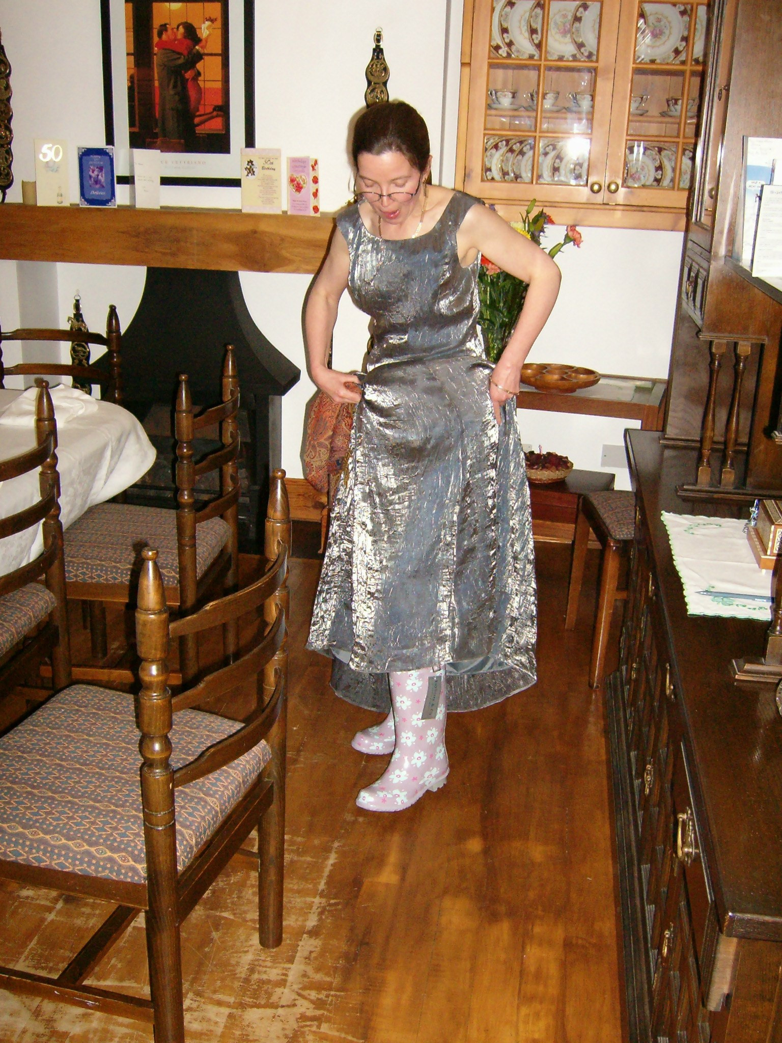 Always a follower of fashion! My favourite pic from Dolores' 50th  x
