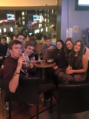 Jacob in the students union